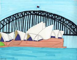 """""""Sydney Oprah House"""" by Stephon Doby"""