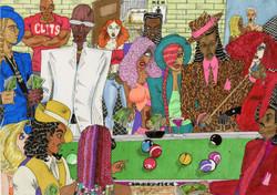 """""""Billiards"""" by Tony Davis"""