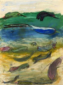 """Underwater Creatures"" by Larry Rosenberg"