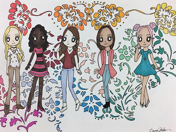 Dana Baker art