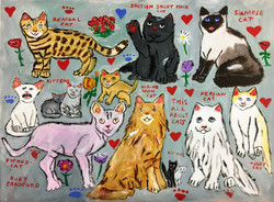 """""""All About Cats"""" by Ruby Bradford"""
