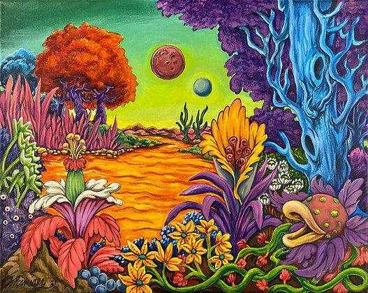 """""""Alien Landscape"""" by Fernando Ramirez"""