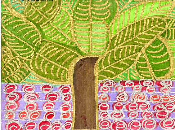 """Trees and Flowers"""" by Safiya Hameed"""