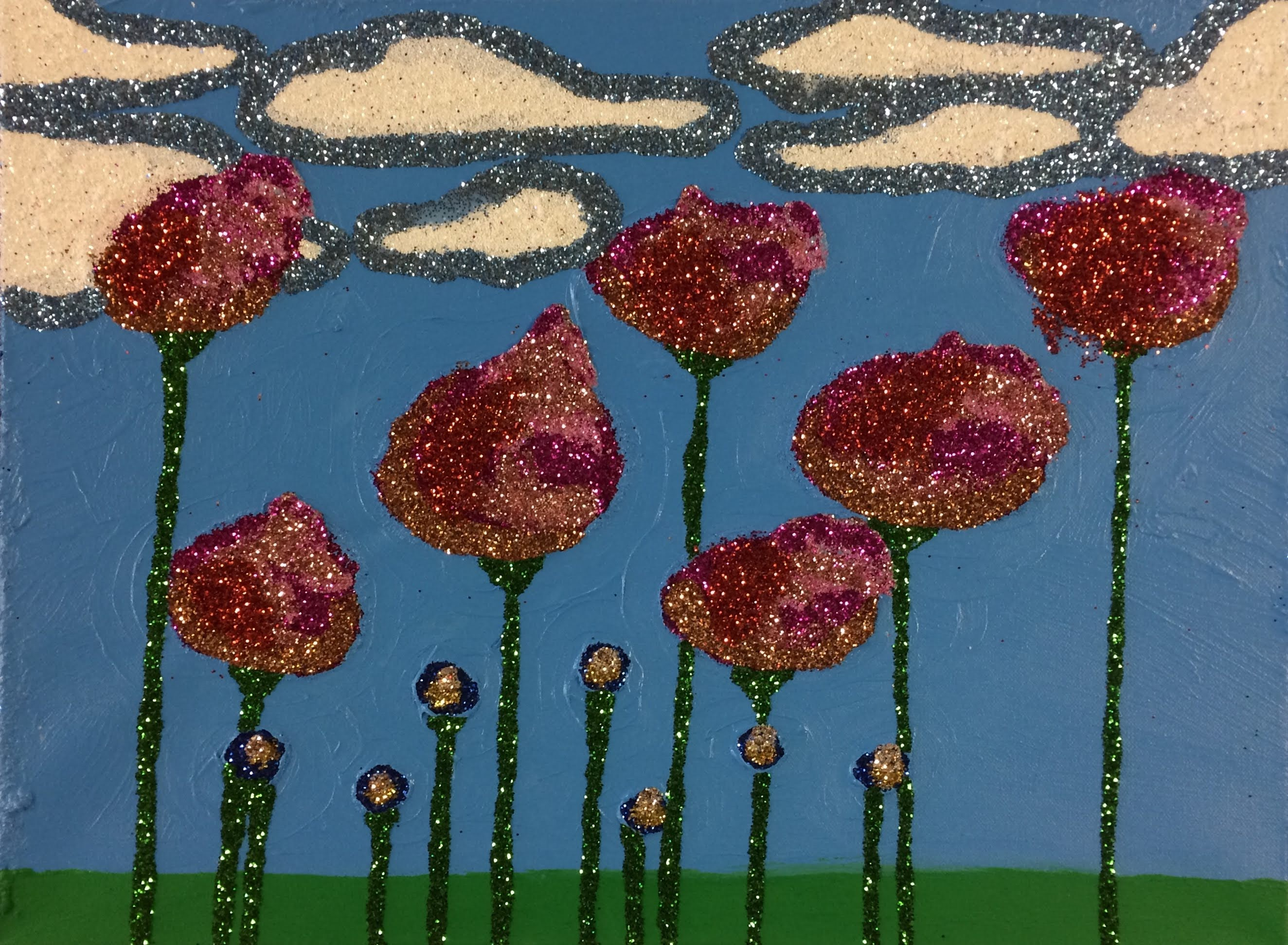 """Poppies"" by Sereno Wilson"
