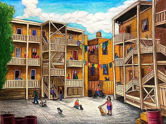 """Chicago Back Porch"" by Fernando Ramirez"