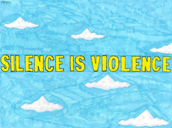 """""""Silence is Violence"""" by Louis DeMarco"""