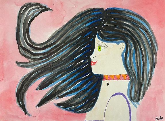 """Hair Blown"" by Bill Douglas"