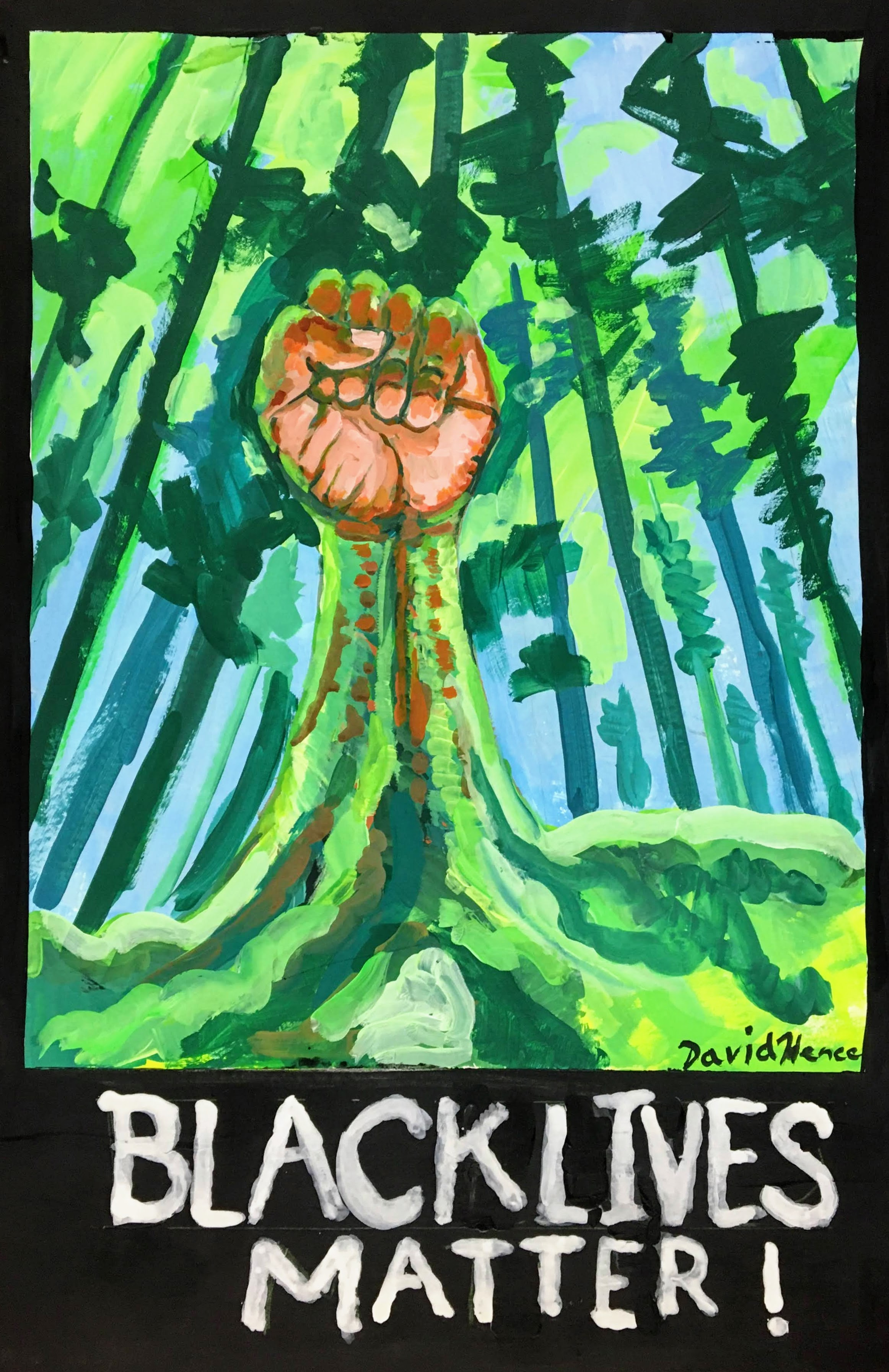 """Black Lives Matter"" by David Hence"
