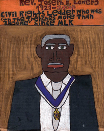 """Rev. Joseph E. Lowery"" by David Holt"