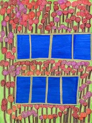"""Flowers in Vases"" by Safiya Hameed"