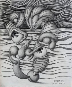 """""""Face 1"""" by Paul Kowalewski"""