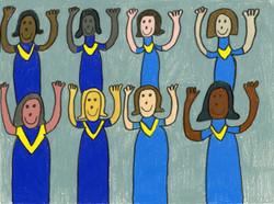 """""""Hallelujah"""" by David Holt"""