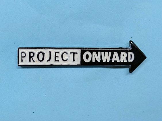 Project Onward Logo Enamel Pin