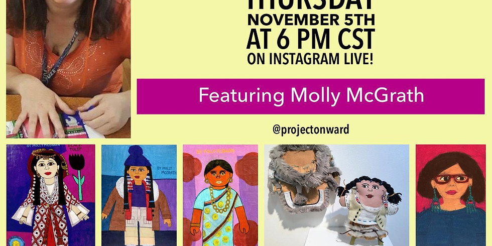 Artists at Home: Molly McGrath