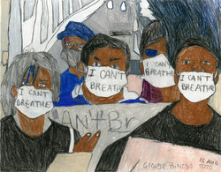 """I Can't Breathe"" by George Zuniga"