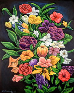 """Arrangement of Flowers"" by Fernando Ramirez"