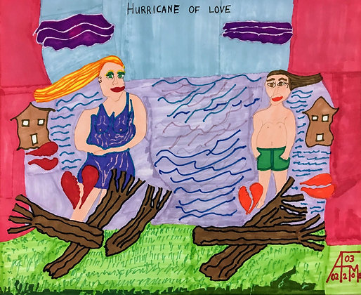 """Hurricane of Love"" by Allen McNair"