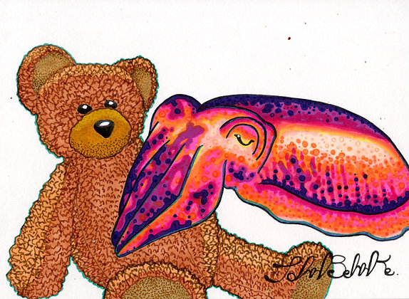 """Cuttlefish Cuddles"" by John Behnke"