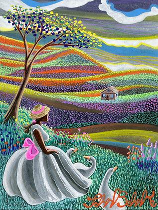 """Prairie Girl"" by John Behnke"