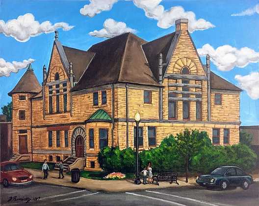 """Adams Memorial Library"" by Fernando Ramirez"