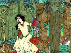"""""""Snow White In the Forest"""" by Matthew Bianchi"""