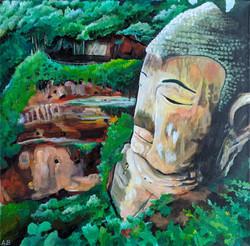 """Buddha Head"" by Alfred Banks"
