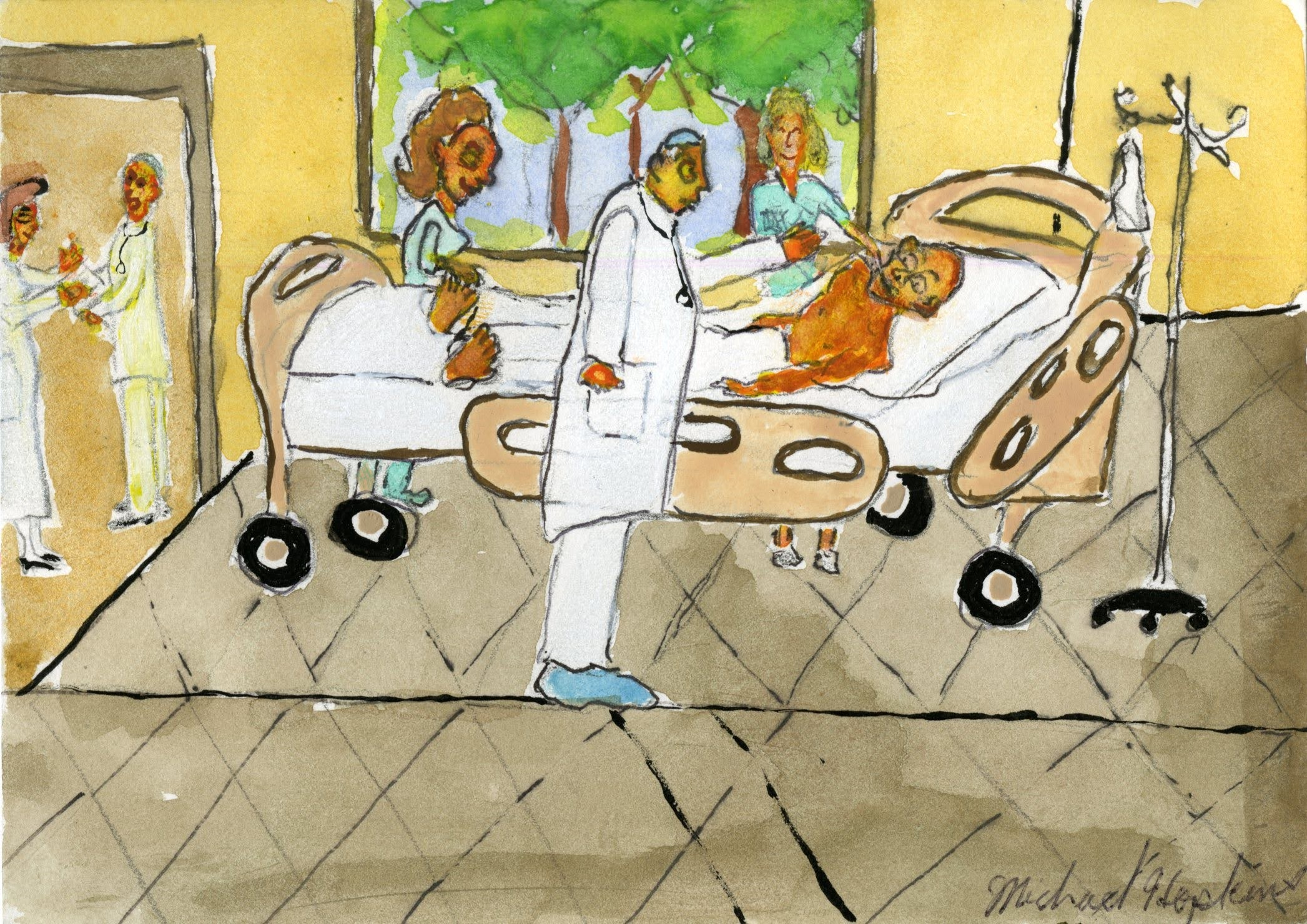 """Hospital Stay""by Michael Hopkins"