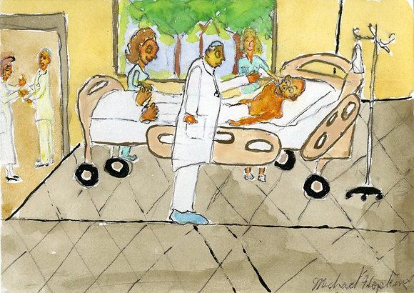 """Hospital Stay""by Michael Hopkins"