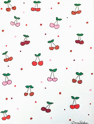 """Cherries"" by Dana Baker"