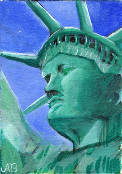 """""""Lady Liberty"""" by Alfred Banks"""