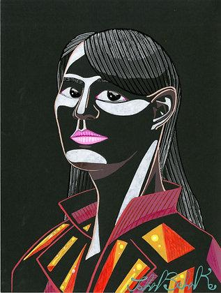 """""""80's Lady"""" by John Behnke"""