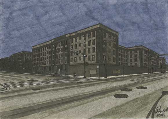 """""""Rosenwald Building 2"""" by Andrew Hall"""