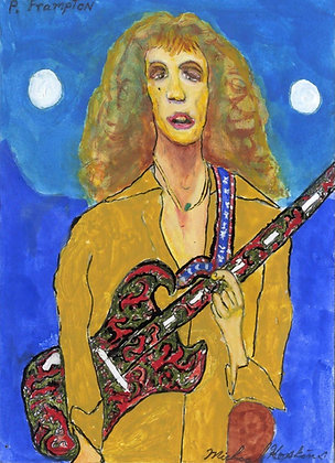 """Peter Frampton"" by Michael Hopkins"