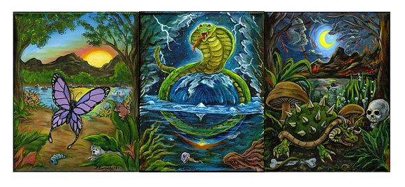 """Three Stages of Bipolar"" by Fernando Ramirez"
