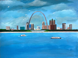 """""""St. Louis Arch"""" by Janno Juguilon"""