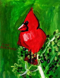 """Cardinal"" by Ruby Bradford"