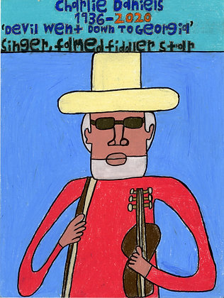 """Charlie Daniels"" by David Holt"