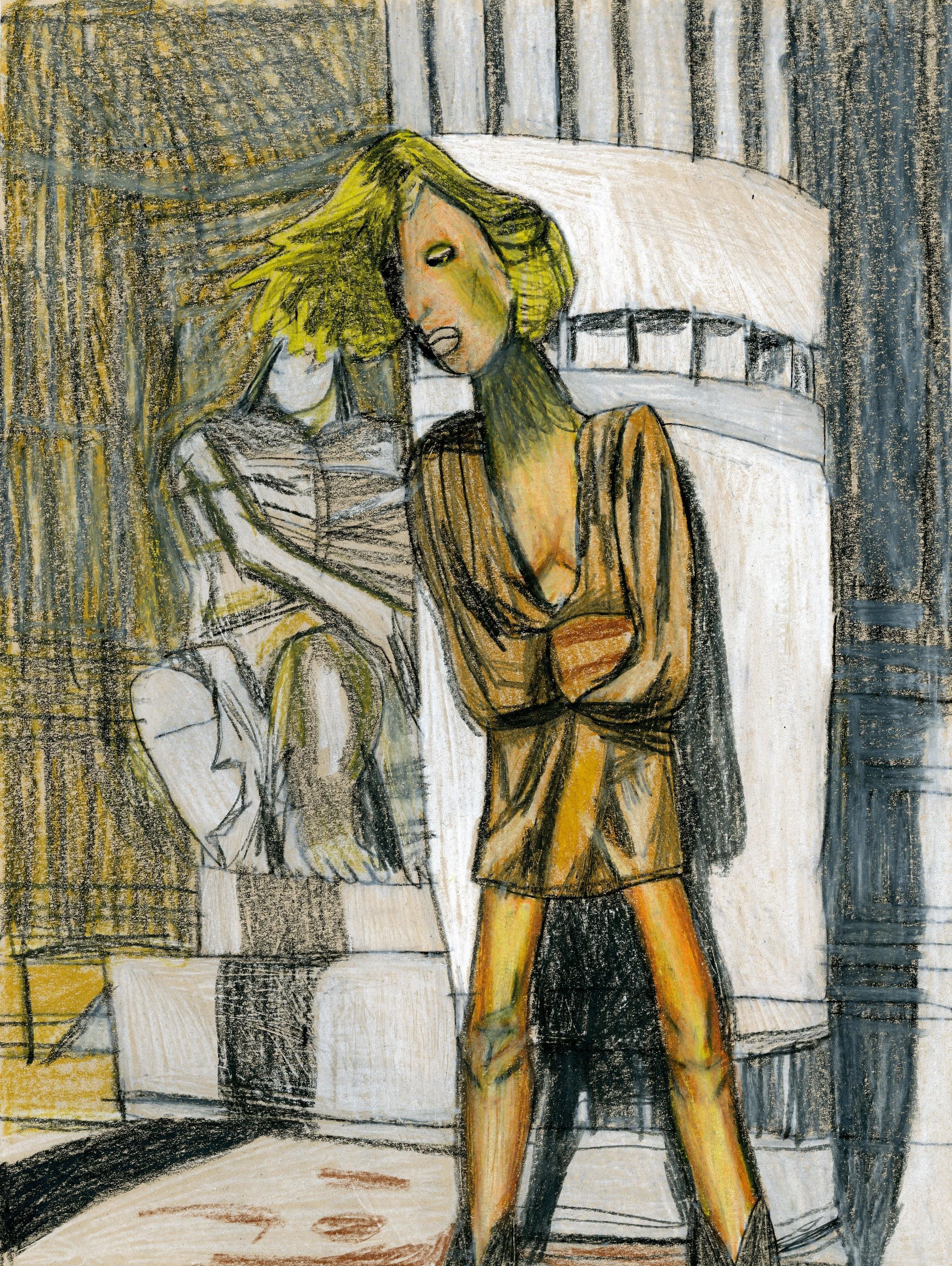 """Greek Beauty"" by George Zuniga"