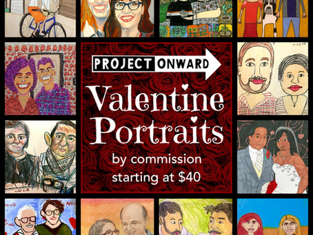 Valentine Portraits by Commission!