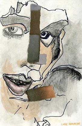 """Face Collage"" by Luke Shemroske"