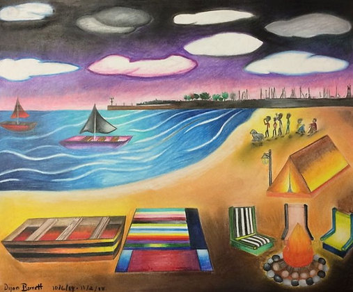 """31st Beach"" by Dijon Barrett"