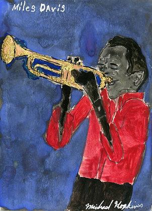 """Miles Davis"" by Michael Hopkins"