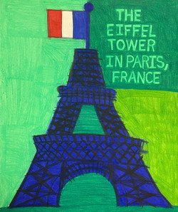 """""""The Eiffel Tower"""" by Molly McGrath"""