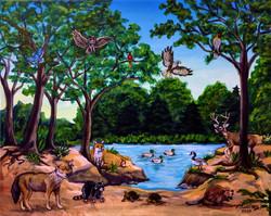 """Animals of the Forest"" by Fernando Ramirez"