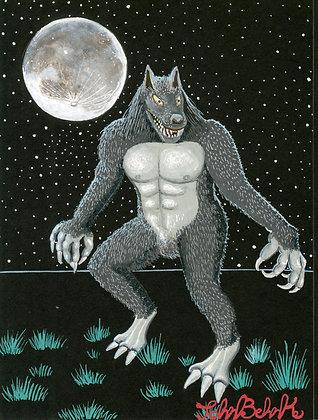 """""""Wolfman"""" by John Behnke"""