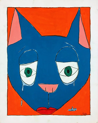 """Sad Cat"" by Bill Douglas"