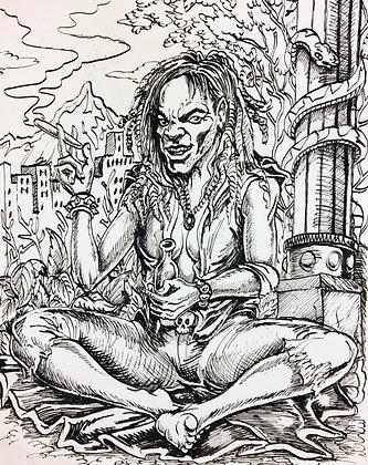"""""""Rastafarian"""" by Fernando Ramirez"""