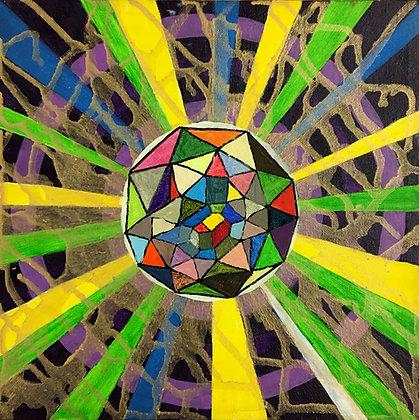 """Rainbow Diamond"" by Bill Douglas"