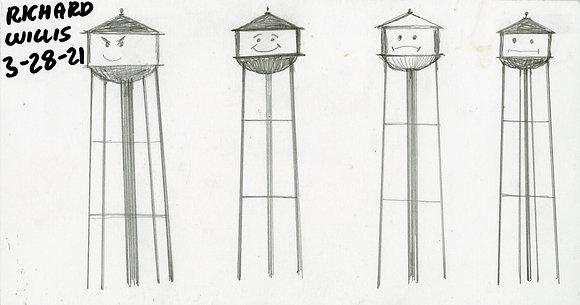 """Water Tower Feelings"" by Ricky Willis"