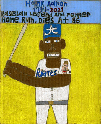 """Hank Aaron"" by David Holt"